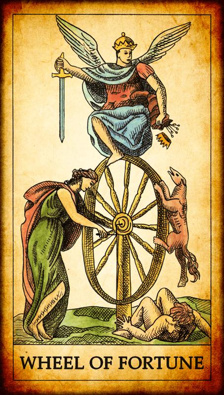 Фортуна таро карти таро гадаене