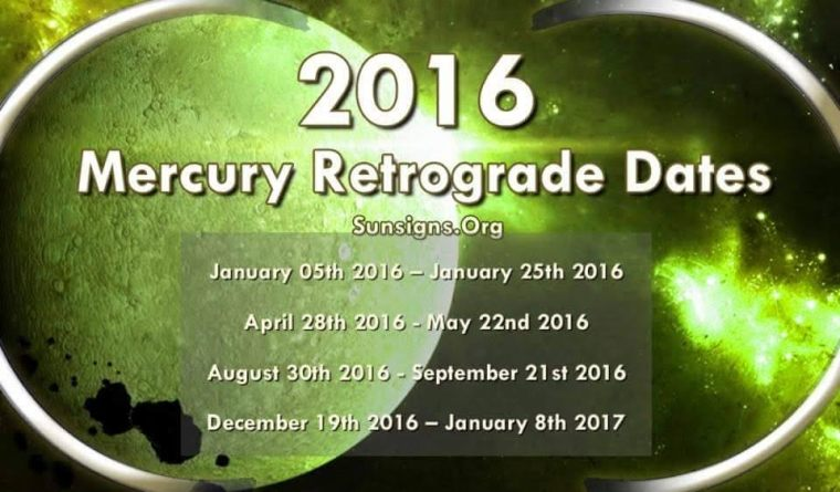 2016 MRx Dates