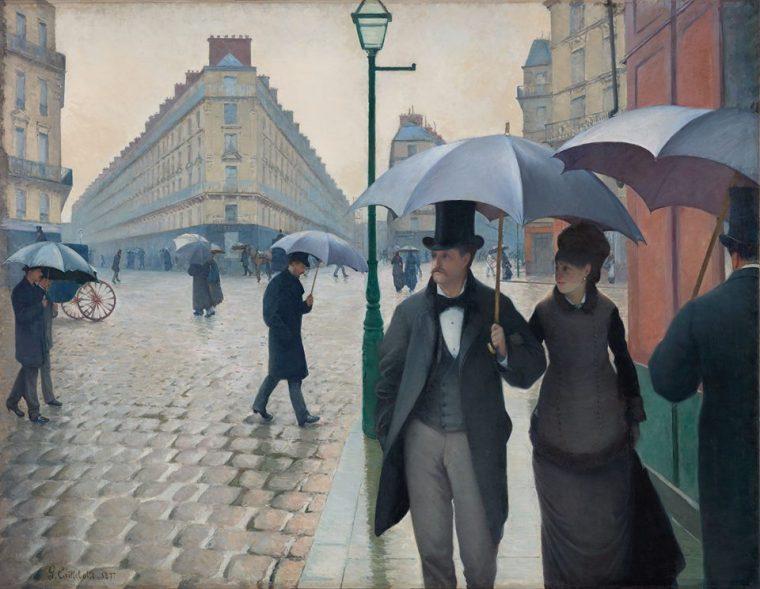 Gustave Caillebotte Paris Street Rainy Day 1877.jpg