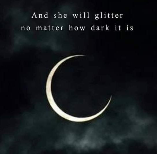 SHE WILL GLITTER
