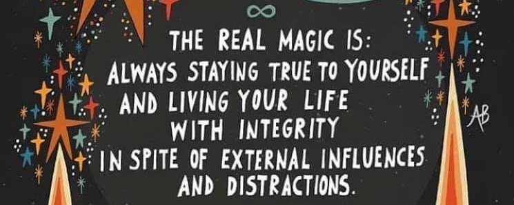 THE REAL MAGIC IS